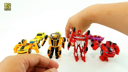 Yellow Color Red Color Carbot Transformers Mini 12 Car Toys