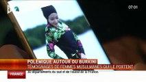 """Des musulmanes défendent le Burkini: """"C'est notre liberté, on est Française et on veut profiter de notre plage"""""""