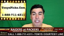 Green Bay Packers vs. Oakland Raiders Free Pick Prediction NFL Pro Football Odds Preview 8-18-2016