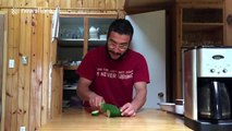 How to sharpen a kitchen knife if you don't have a sharpening tool