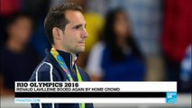 Rio 2016: French pole vaulter Lavillenie in tears on podium after being heavily booed by crowd
