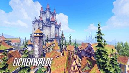 Eichenwalde New Map Preview de Overwatch