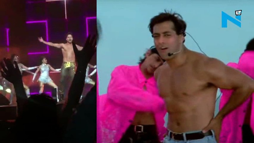 Hot-bod! Stop comparing Varun with Govinda, he is ditto shirtless Salman
