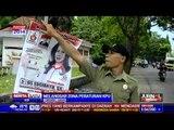 Satpol PP Cirebon Tertibkan Alat Peraga Kampanye Caleg