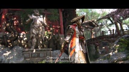 Trailer des factions Viking, Samouraï et Chevalier  de For Honor