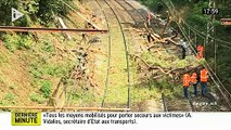 EN DIRECT - Accident de TER près de Montpellier - Le train a percuté un arbre - Plusieurs blessés graves - Le train roul_512x384