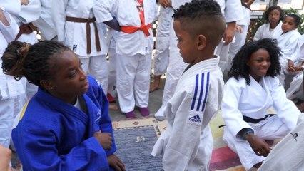 Du Judo Olympique et du coeur dans la Favela, Gevrise Emane et Priscilla Gneto