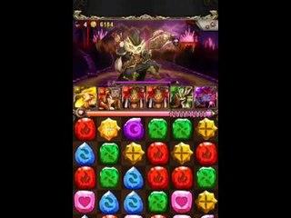 神魔之塔 - 日月狼配偽火隊殺超級貓公爵『傭兵的戰場。暗』