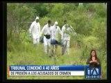 40 años de cárcel para autores de la muerte de turistas argentinas en Montañita