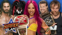 WWE SUMMERSLAM 2016 - Matches, Rumors, Predictions, Highlights, Plans & Possible Results
