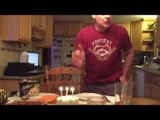 This Dad May Change Your Mind About Blowing Out Birthday Candles