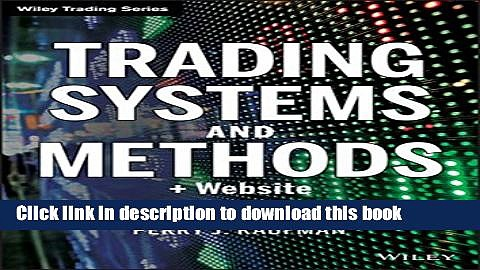 [Popular] Trading Systems and Methods, + Website Hardcover Collection