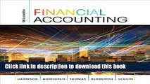 [Popular] Financial Accounting, Fifth Canadian Edition Plus MyAccountingLab with Pearson eText --