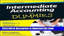[Popular] Intermediate Accounting For Dummies Paperback Collection