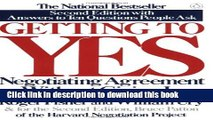[Download] Getting to Yes: Negotiating Agreement Without Giving In Hardcover Free
