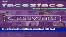 [Download] face2face Upper Intermediate Classware DVD-ROM: Software version of the Student s Book
