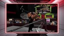 WWE 2K16 kane v batista highlights
