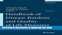 [Download] Handbook of Disease Burdens and Quality of Life Measures, Vol. 1 (Springer Reference)