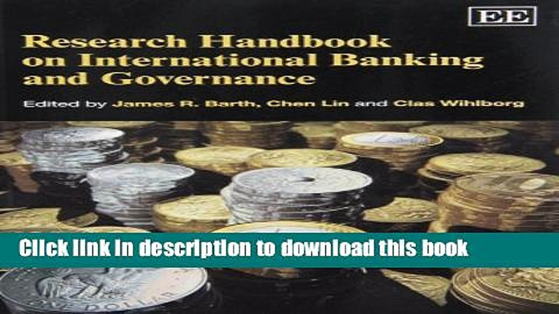 [Popular] Research Handbook on International Banking and Governance Kindle Online