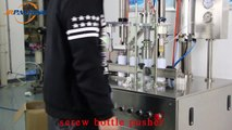 Aerosol Foam Fire Extinguisher Filling Machine for Foam Fire Extinguisher Production