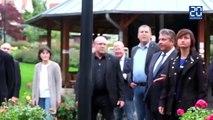Le vice-chancelier allemand fait un doigt d'honneur à des militants d'extrême droite