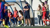 FCB Femenino: Xavi Llorens e Irene del Rio previa Montpellier [ESP]
