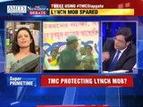 Indian Politician Mahua Mitra Showing MIDDLE-FINGER To Anchor Arnab Goswami