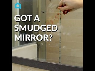 How to Clean a Smudged Mirror Using Newspaper