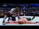WWE | WWE 2016 | Aj styles attacks John cena - WWE Smackdown 16 august 2016 | WWE Wrestling | WWE Smackdown | WWE
