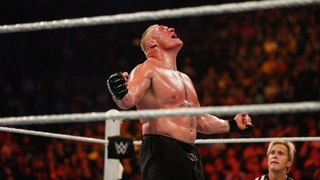 WWE WWE 2016 Brock Lesnar vs Alberto Del Rio WWE RAW 15 Augu
