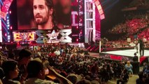 WWE | WWE 2016 | Fan tries to attack Seth Rollins during his promo in WWE Raw Monday Night | WWE OMG Moments | WWE Wrestling | WWE
