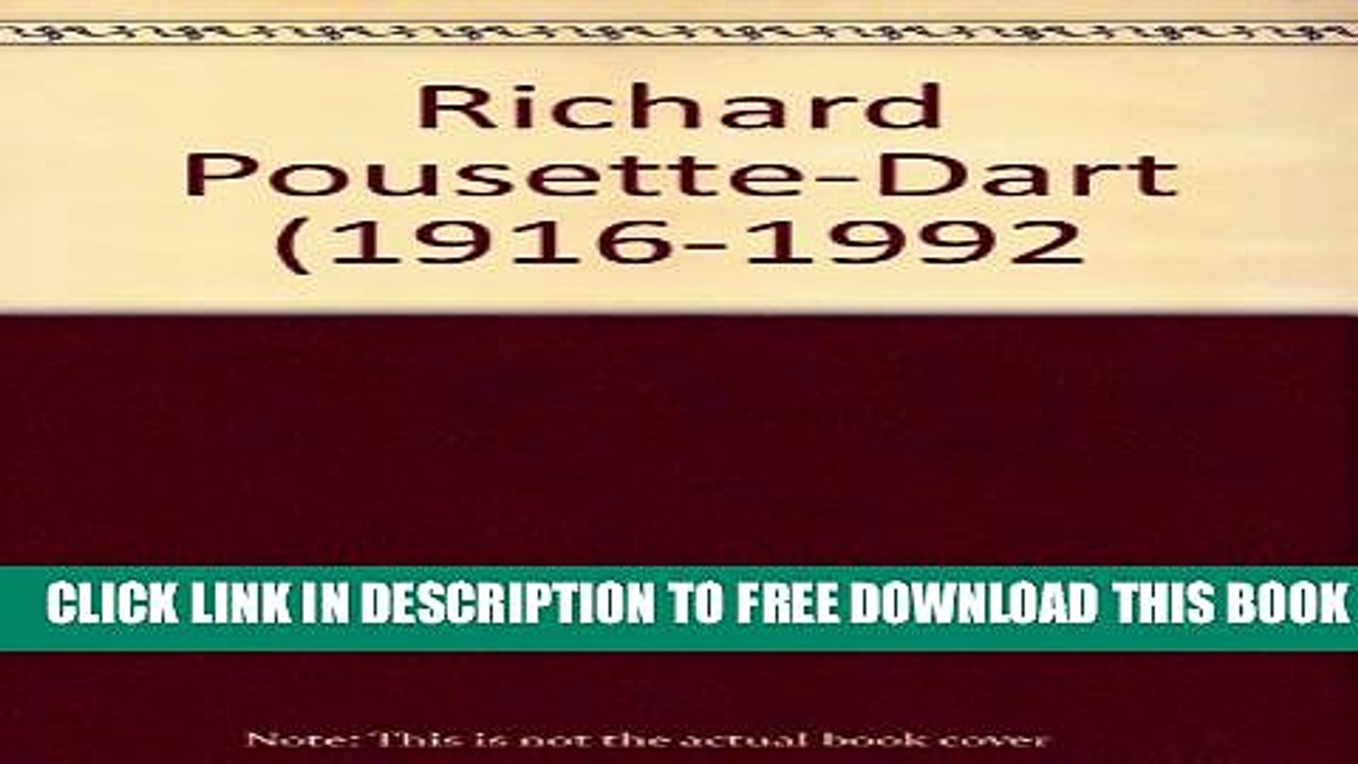 [Download] Richard Pousette-Dart (1916-1992 Hardcover Free