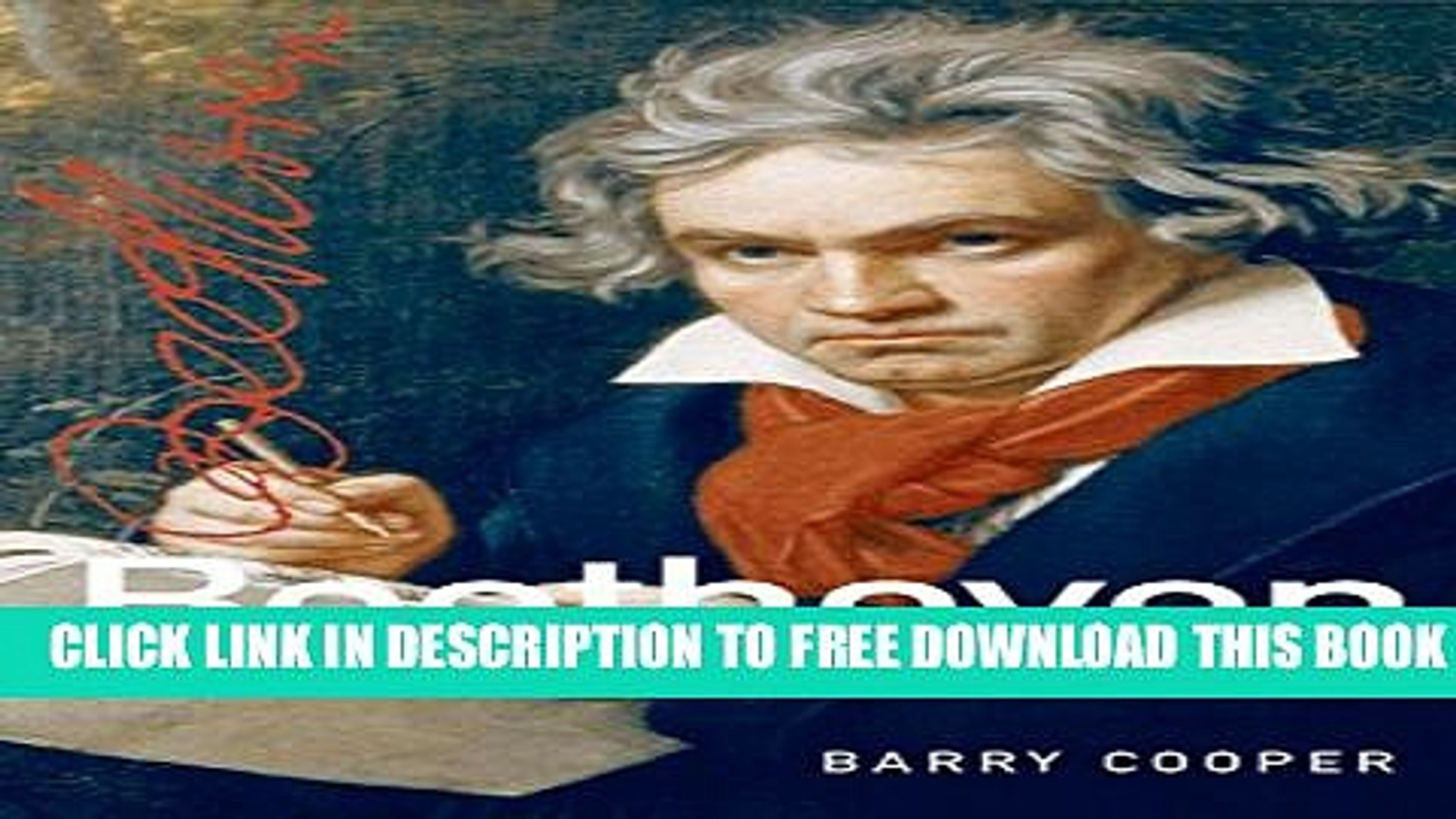 [Download] Beethoven (Master Musicians Series) Kindle Free