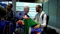 """Gauthier Grumier : """"On a fait notre boulot à Rio"""""""