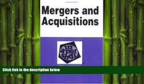 READ book  Mergers and Acquisitions in a Nutshell: Mergers and Acquisitions (Nutshell Series)