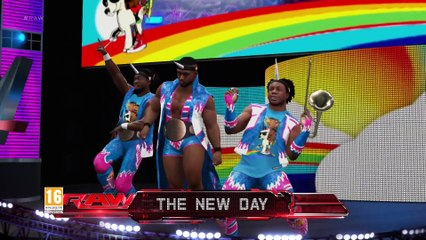 WWE 2K17 : The New Day Entrance