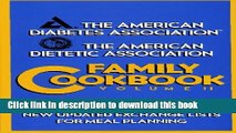 [Download] ADA Family Cookbook (American Diabetes Association/The American Dietetic Associat)