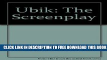 [Download] Ubik: The Screenplay Hardcover Online