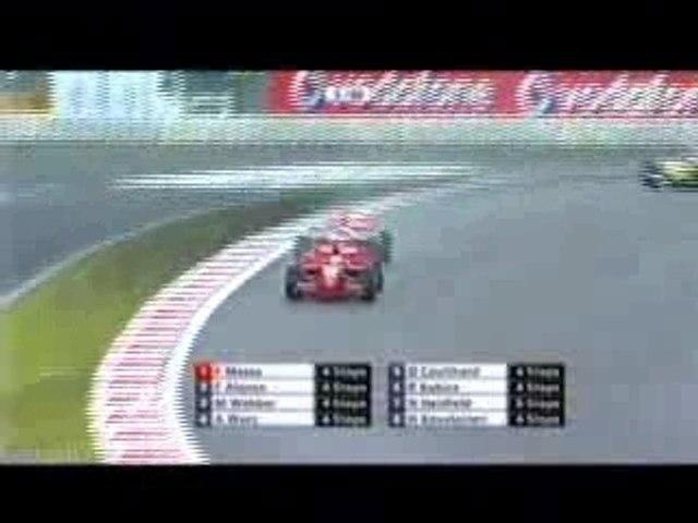 Alonso passe Massa