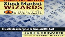 [Popular] Stock Market Wizards: Interviews with America s Top Stock Traders Hardcover Online