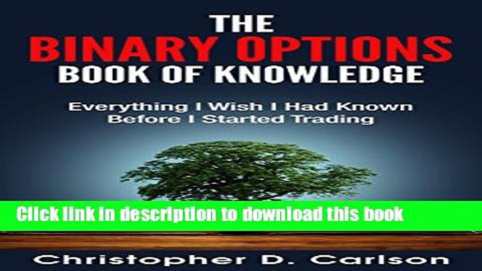 The binary options book of knowledge jalan menuju muara betting tips 1x2