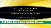 [Popular] Soros on Soros: Staying Ahead of the Curve Paperback Online