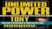 [Popular] Unlimited Power : The New Science Of Personal Achievement Paperback Online