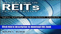 [Popular] Investing in REITs: Real Estate Investment Trusts (Bloomberg) Paperback Collection
