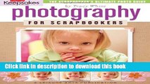 [Download] Creating Keepsakes: Photography for Scrapbookers (Leisure Arts #15949) Paperback