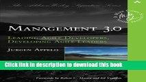 [Popular] Management 3.0: Leading Agile Developers, Developing Agile Leaders (Addison-Wesley