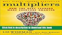 [Popular] Multipliers: How the Best Leaders Make Everyone Smarter Paperback Online