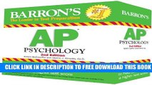 Collection Book Barron s AP Psychology Flash Cards, 2nd Edition