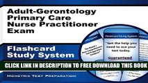 Collection Book Adult-Gerontology Primary Care Nurse Practitioner Exam Flashcard Study System: NP