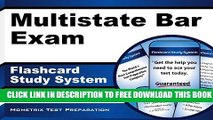 New Book Multistate Bar Exam Flashcard Study System: MBE Test Practice Questions   Review for the